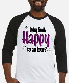 Limit Happy Hour? Baseball Jersey