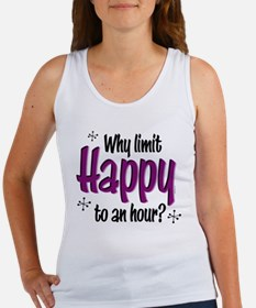 Limit Happy Hour? Women's Tank Top