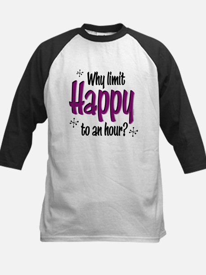 Limit Happy Hour? Kids Baseball Jersey