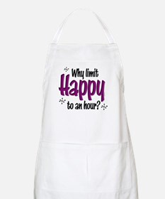 Limit Happy Hour? BBQ Apron