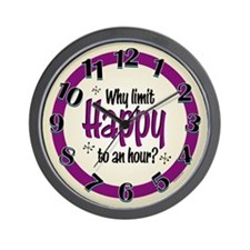 Limit Happy Hour? Wall Clock