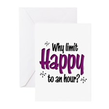 Limit Happy Hour? Greeting Cards (Pk of 10)