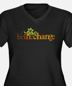 Be the change - Earthy - Floral Women's Plus Size