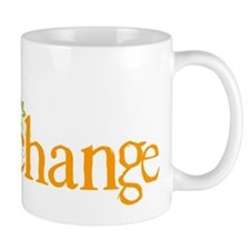 Be the change - Earthy - Floral Mug