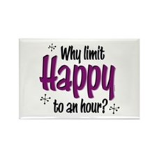 Limit Happy Hour? Rectangle Magnet