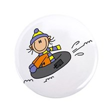 "Snow Tubing 3.5"" Button"