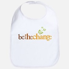 Be the change - Earthy - Butterflys Bib
