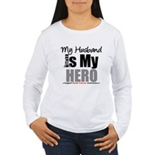 BrainCancerHero Husband T-Shirt