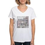 Hope Won Women's V-Neck T-Shirt