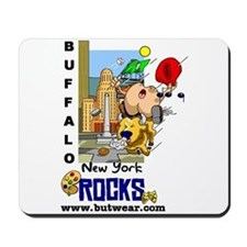 Buffalo New York Rocks Mousepad