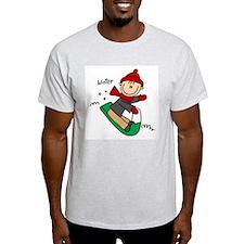 Winter Tobogganing T-Shirt