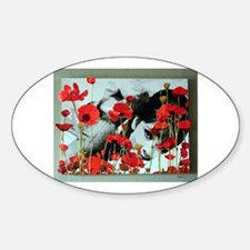 Audrey in Poppies Decal