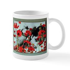 Audrey in Poppies Mug