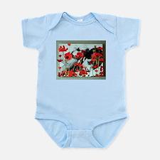 Audrey in Poppies Infant Bodysuit