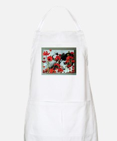 Audrey in Poppies Apron