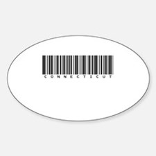 Connecticut Oval Sticker (10 pk)