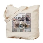 Hope Won Tote Bag