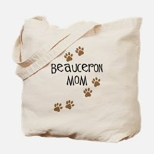 Beauceron Mom Tote Bag