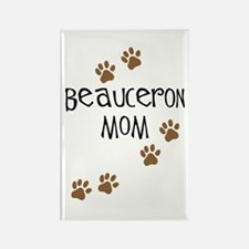 Beauceron Mom Rectangle Magnet