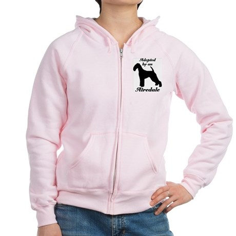 ADOPTED by Airedale Women's Zip Hoodie