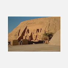 Abu Simbel Rectangle Magnet