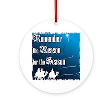 """Remember the Reason"" Ornament (Round)"