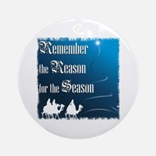 """Remember the Reason"" Ornament (Round)"
