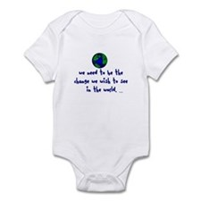 We are the Change Infant Bodysuit