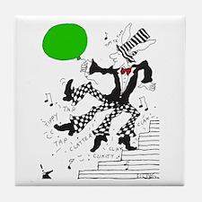 Cute Tap dancing Tile Coaster