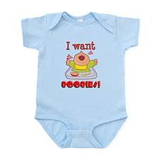 I want Boobies Infant Bodysuit