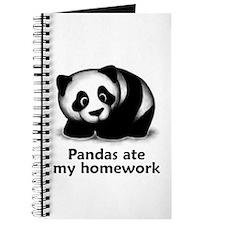Pandas ate my homework Journal