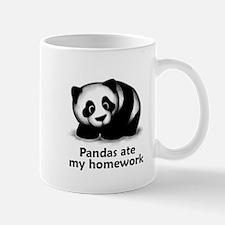 Pandas ate my homework Mug