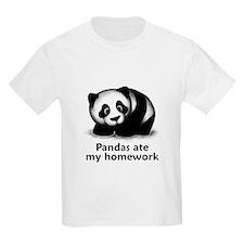 Pandas ate my homework T-Shirt