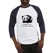 Pandas ate my homework Baseball Jersey