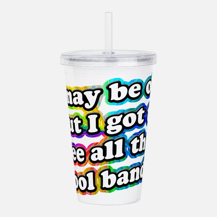 All The Cool Bands Acrylic Double-wall Tumbler