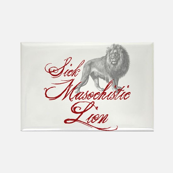 Sick Masochistic Lion Twilight Dialog Rectangle Ma
