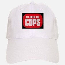 As Seen On Cops Baseball Baseball Cap