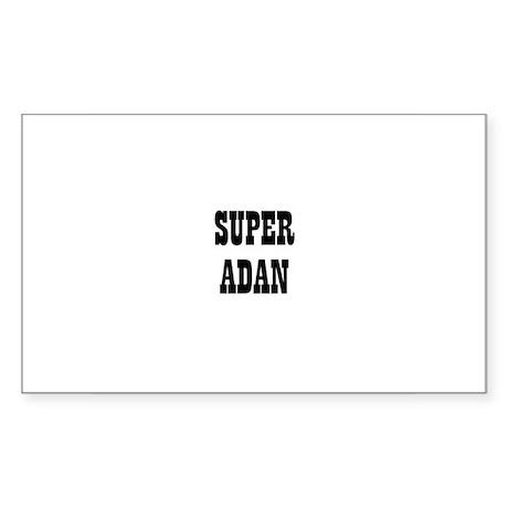 Super Adan Rectangle Sticker