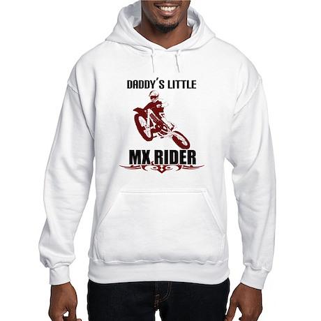 Daddy's LiL MX Rider Hooded Sweatshirt