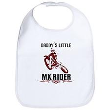 Daddy's LiL MX Rider Bib