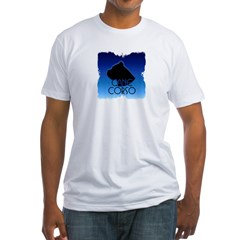 Blue Cane Corso Fitted T-Shirt