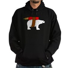 Rocket-Powered Polar Bear Hoodie