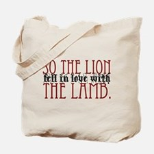 so the lion.. Tote Bag