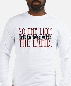so the lion.. Long Sleeve T-Shirt