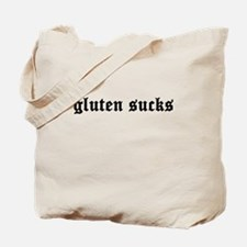 gluten sucks Tote Bag