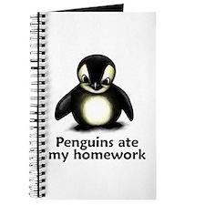 Penguins ate my homework Journal