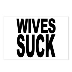 Wives Suck Postcards (Package of 8)