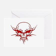 Skull Tattoo 1 Greeting Card