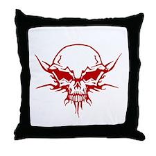 Skull Tattoo 1 Throw Pillow