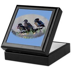 Wood Ducks Keepsake Box